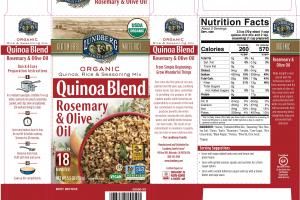 ROSEMARY & OLIVE OIL QUINOA BLEND RICE & SEASONING MIX