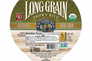 ORGANIC HEAT & EAT LONG GRAIN BROWN RICE