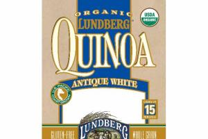 ORGANIC WHOLE GRAIN ANTIQUE WHITE QUINOA