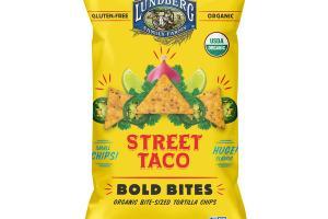 STREET TACO BOLD BITES ORGANIC BITE-SIZED TORTILLA CHIPS