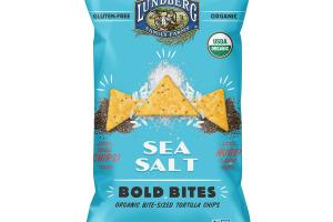 ORGANIC SEA SALT BOLD BITE-SIZED TORTILLA CHIPS