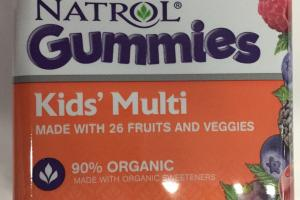 Kids' Multi Gummies Dietary Supplement
