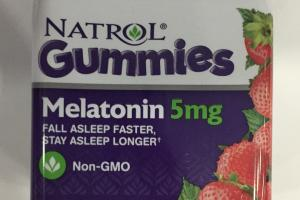 Melatonin Gummies Dietary Supplement