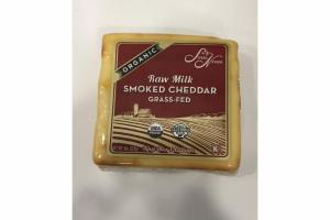 RAW MILK SMOKED CHEDDAR