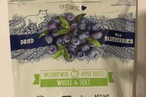 Whole & Soft Dried Wild Blueberries