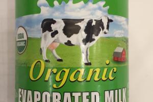 Organic Evaporated Milk