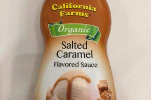 Salted Caramel Flavored Sauce