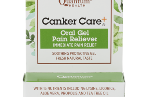 Oral Gel Pain Reliever Immediate Pain Relief