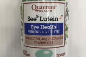 SEE LUTEIN + EYE HEALTH DIETARY SUPPLEMENT SOFTGELS