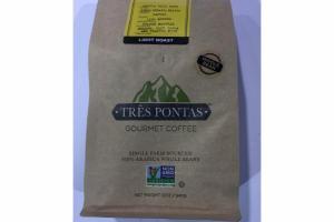 LIGHT ROAST 100% ARABICA WHOLE BEANS GOURMET COFFEE