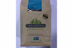 100% ARABICA WHOLE BEANS DARK ROAST GOURMET COFFEE