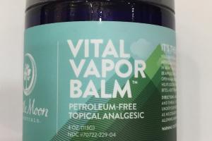 Petroleum-free Topical Analgesic  Vital Vapor Balm