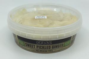 Sweet Pickled Ginger