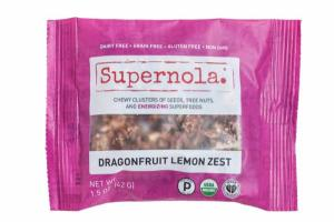 DRAGONFRUIT LEMON ZEST CHEWY CLUSTERS OF SEEDS, TREE NUTS, AND ENERGIZING SUPERFOODS