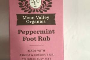 PEPPERMINT FOOT RUB