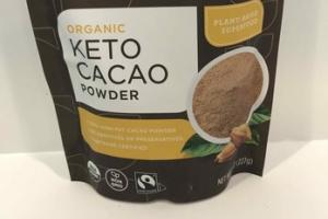 ORGANIC KETO CACAO POWDER