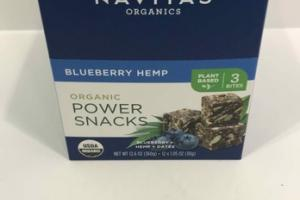 BLUEBERRY HEMP ORGANIC POWER SNACKS