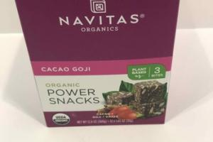 CACAO GOJI ORGANIC POWER SNACKS