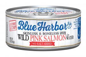 Skinless & Boneless Wild Pink Salmon In Water