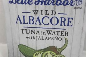 TUNA IN WATER WITH JALAPENO WILD ALBACORE