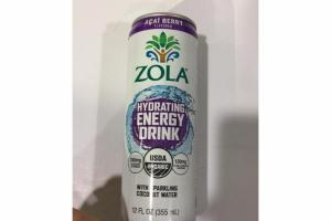 ACAI BERRY WITH SPARKING COCONUT WATER HYDRATING ENERGY DRINK