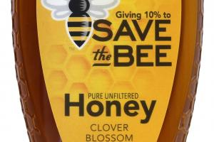 Pure Unfiltered Clover Blossom Honey