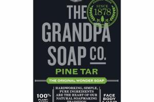 THE ORIGINAL PINE TAR FACE BODY & HAIR WONDER SOAP
