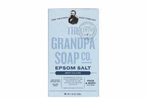 EPSOM SALT DEEP CLEANSE FACE & BODY BAR SOAP