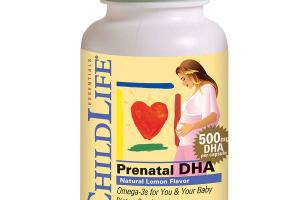 ESSENTIALS PRENATAL DHA OMEGA-3S FOR YOU & YOUR BABY DIETARY SUPPLEMENT SOFT GEL CAPSULES, LEMON
