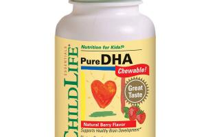 NATURAL BERRY PURE DHA CHEWABLE! DIETARY SUPPLEMENT, SOFTGELS