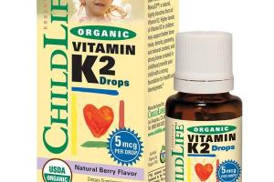 ORGANIC VITAMIN K2 DROPS NATURAL BERRY DIETARY SUPPLEMENT