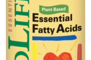 PLANT-BASED ESSENTIAL FATTY ACIDS DIETARY SUPPLEMENT, NATURAL ORANGE