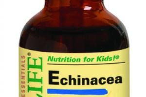 ECHINACEA DIETARY SUPPLEMENT, NATURAL ORANGE