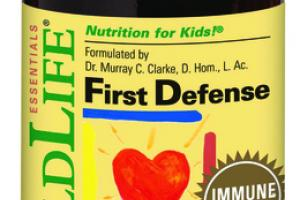 ESSENTIALS FIRST DEFENSE IMMUNE FORMULA DIETARY SUPPLEMENT