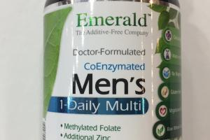 Coenzymated Men's 1-daily Multi Dietary Supplement