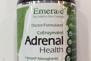 Coenzymated Adrenal Health Dietary Supplement