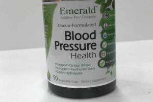 BLOOD PRESSURE HEALTH DIETARY SUPPLEMENT VEGETABLE CAPS