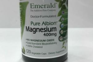 DOCTERO-FORMULATED MAGNESIUM 400MG DIETARY SUPPLEMENT VEGETABLE CAPS