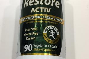 Restore Activ Supports Muscles & Joints Dietary Supplement