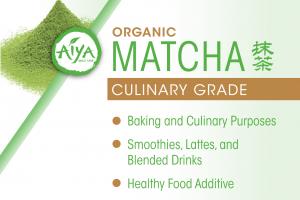 ORGANIC CULINARY GRADE MATCHA GREEN TEA