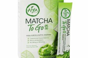 MATCHA TO GO PREMIUM JAPANESE GREEN TEA