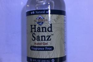 Fragrance Free Hand Gel