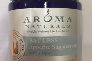 Eat Less Appetite Suppressant 100% Pure Essential Oils