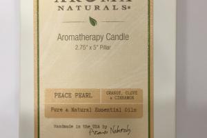 Aromatherapy Candle, Orange, Clove & Cinnamon