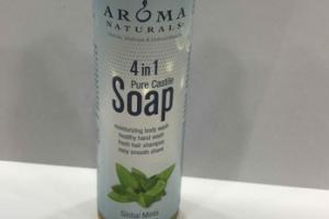 4 IN 1 PURE CASTILE SOAP, GLOBAL MINTS