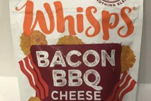 BACON BBQ CHEESE CRISPS