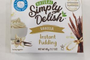 Natural Instant Pudding