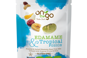 EDAMAME & TROPICAL FUSION SNACK