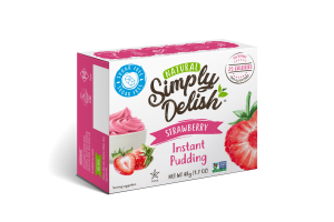 NATURAL STRAWBERRY INSTANT PUDDING