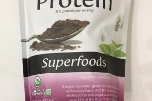 Organic Chia Protein Superfoods